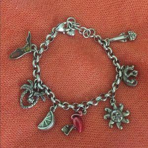 Brighton Florida Charm Bracelet.